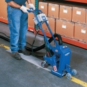 1-8DEZ removing lines on warehouse floor