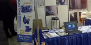 Blastrac exhibits at this year's Tank Storage Canada